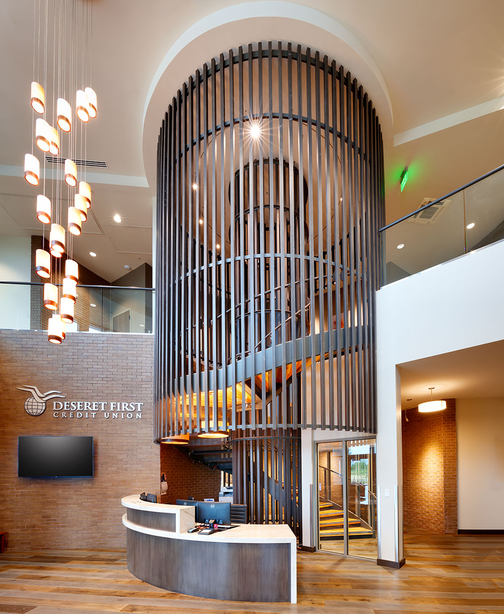 Commercial-Architect-Utah-DFCU-Operations-Stair