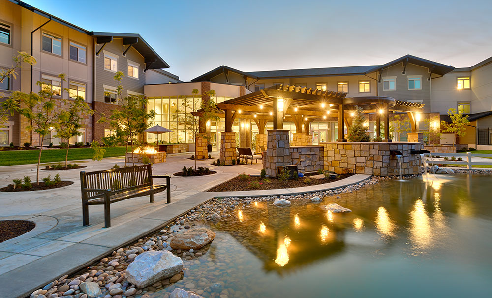 Creekside Assisted Living Bountiful Utah Architecture Curtis Miner Architecture