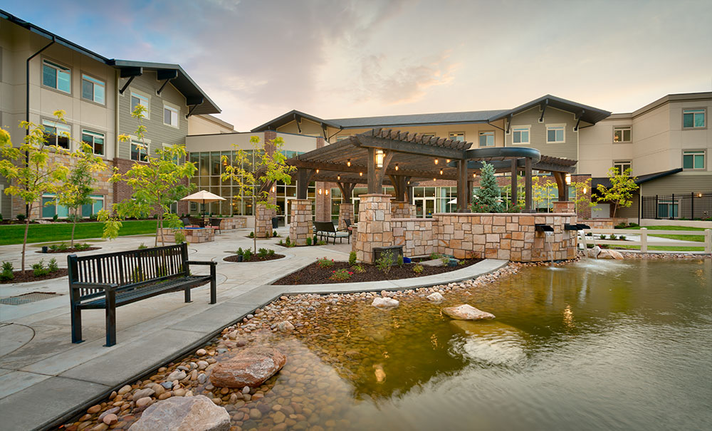 Creekside-Senior-Living-Bountiful-Ut-Architect