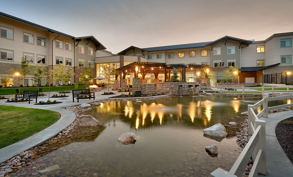 Creekside-Senior-Living-Bountiful-Ut-Architecture