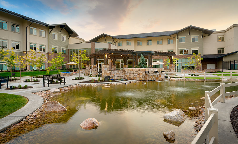 Creekside-Senior-Living-Utah-Bountiful-Architecture