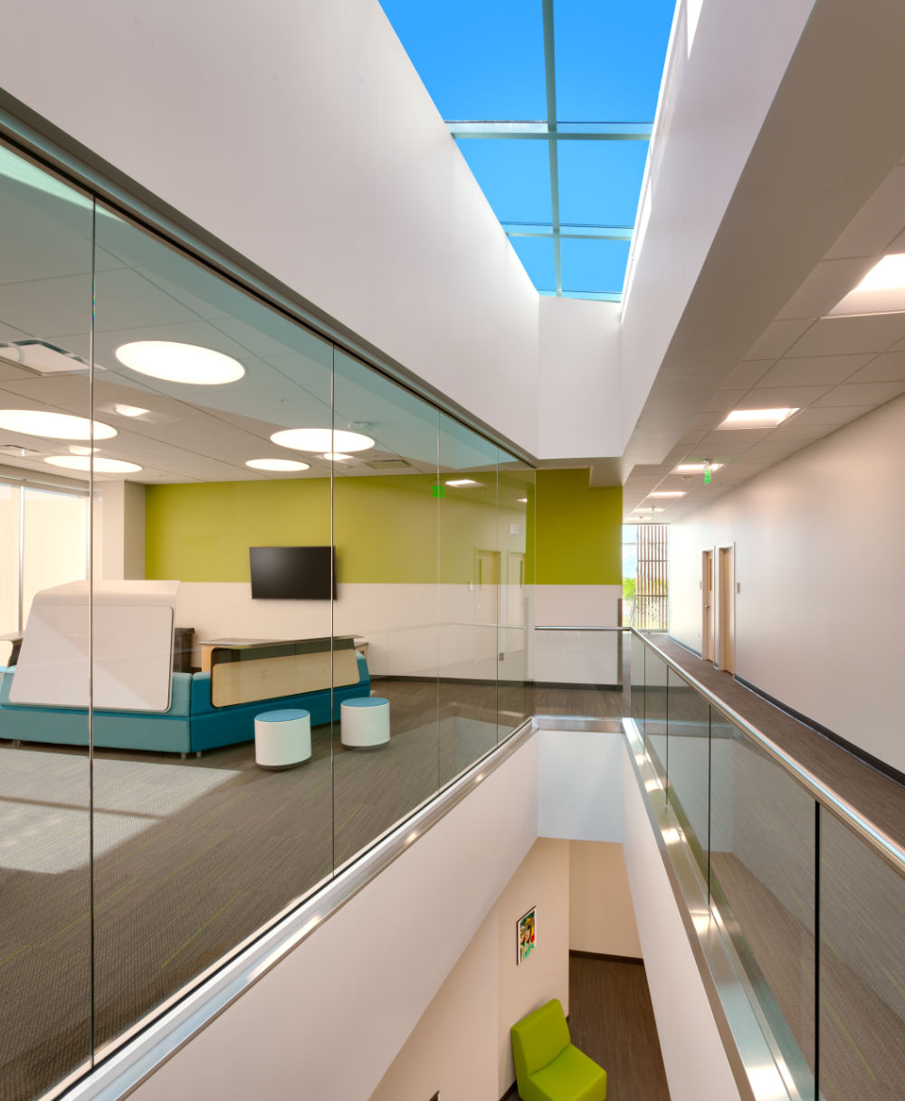 Higher-Education-Architecture-Utah-UVU-Autism-Center-Stair-Skylight