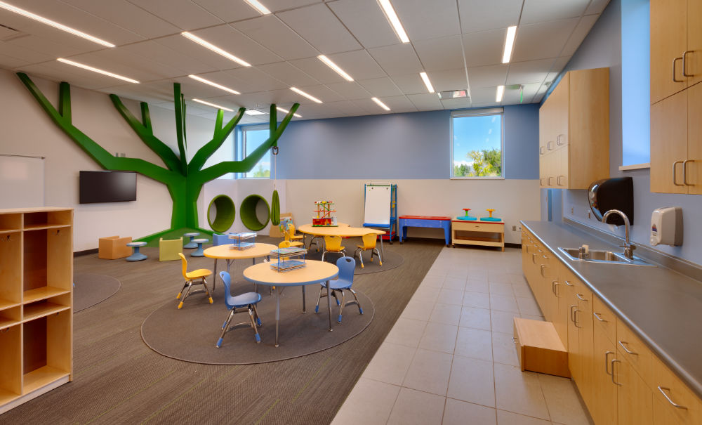 Classroom Design For Autism ~ Utah valley university autism center curtis miner