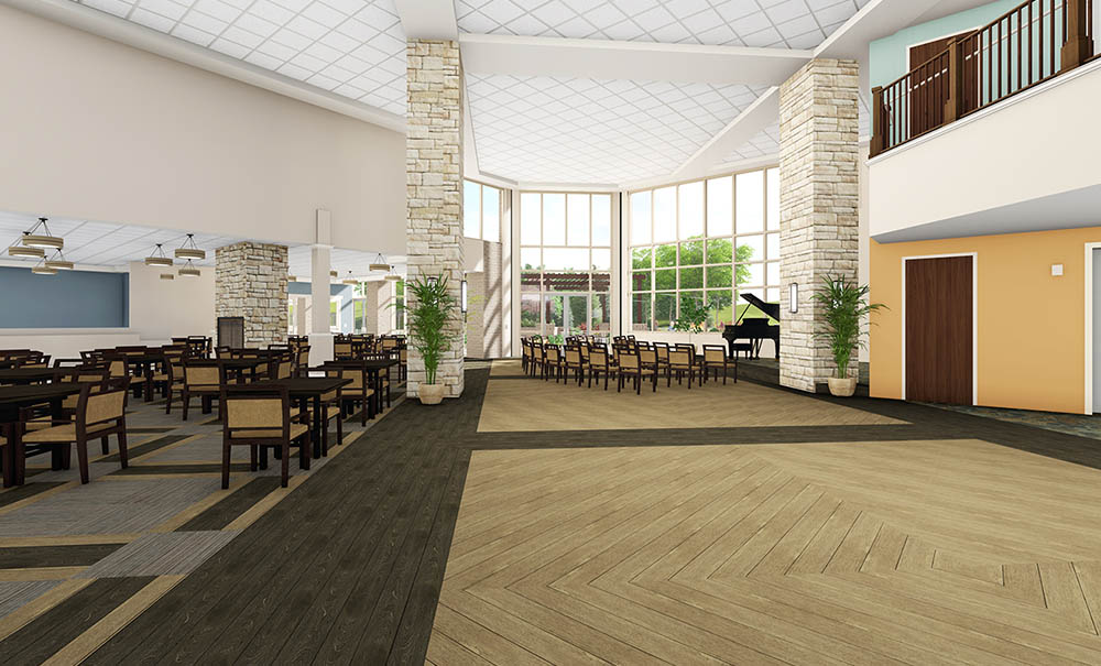 Assisted Living Architecture Utah Creekside Assisted Living 11 Curtis Miner Architecture