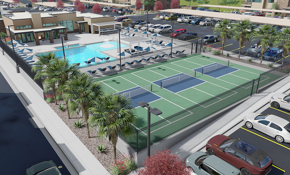 Coyote-Creek-Apartments-Club-Tennis-Pool-Architect-Rendering