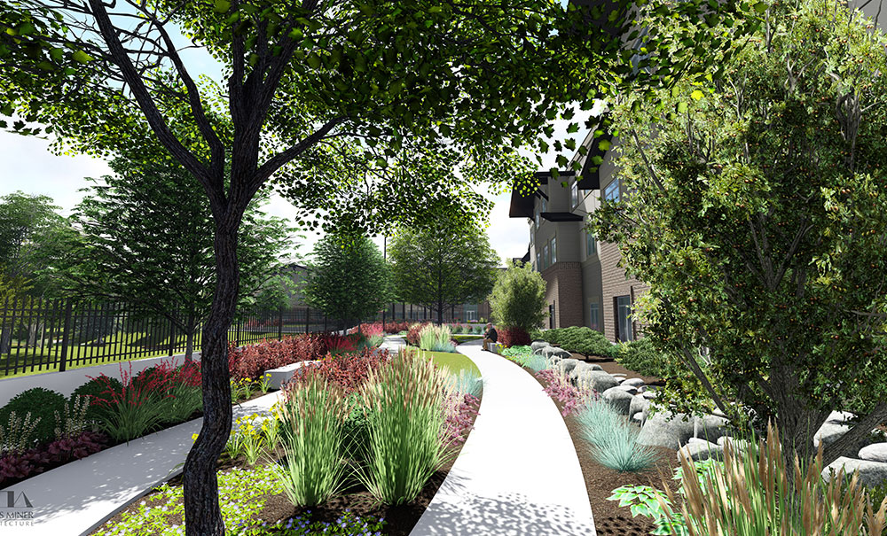 Creekside-Senior-Living-Garden-Architectural-Rendering