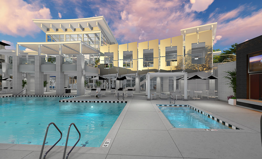 Rockpoint-Apartments-Poolside-Dusk-Archtect-Rendering