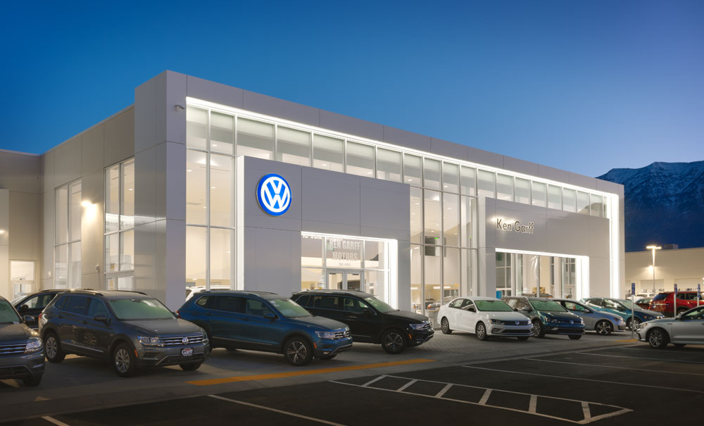 Automotive-Architecture-Utah-Ken-Garff-Orem-VW
