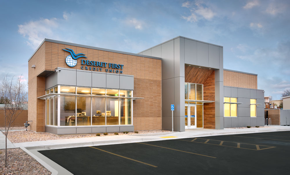 Utah-Commercial-Architecture-Deseret-First-Credit-Union-Taylorsville