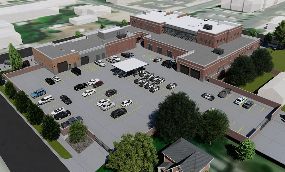Lehi-Police-Station-Exterior-Campus-Rendering-Parking-Utah
