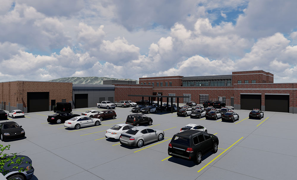 Lehi-Police-Station-Exterior-Rendering-Parking-Lot