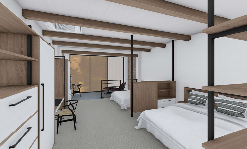 Cirque-Lodge-Interior-Rendering-Bedroom-Utah-Architecture
