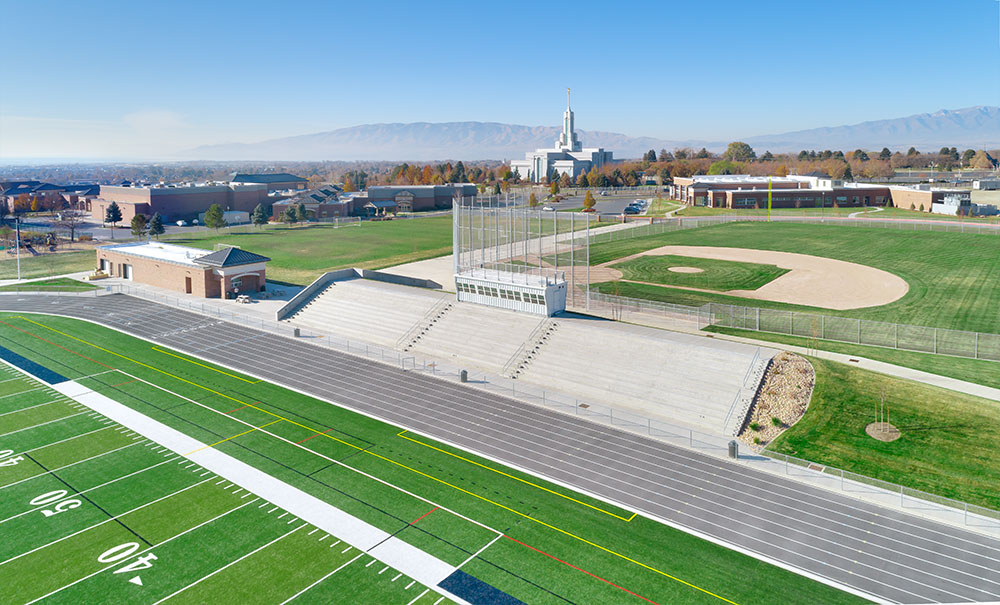 aerial-photography-architecture-american-heritage-architecture-athletic-facility
