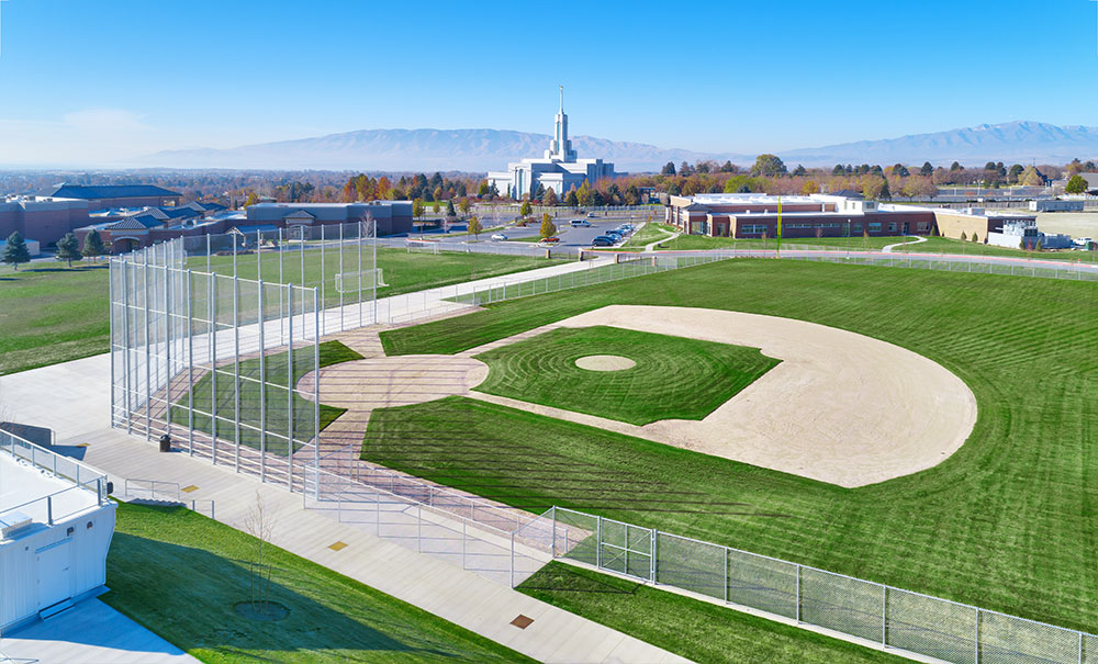 aerial-photography-athletic-facility-american-heritage-utah-design